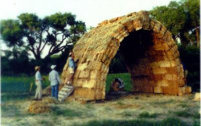 Bob Theis Prototypes Straw Bale Vault