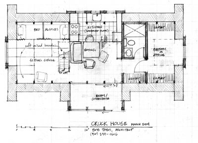 Plan of Cruck House